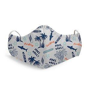 Mascara Proteção Facial Surf Wake Wave