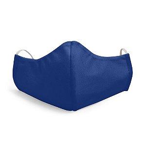Mascara Proteção Facial Liso Azul Marinho