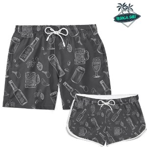 Kit Short Casal Chopp Beer