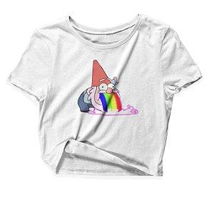 Camiseta Cropped Gnomo