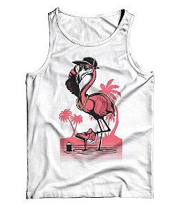 Regata Básica Flamingo Crazy Life