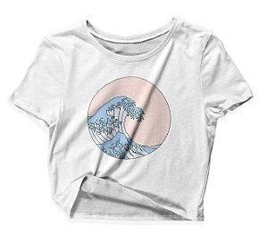 Camiseta Cropped Summer Waves