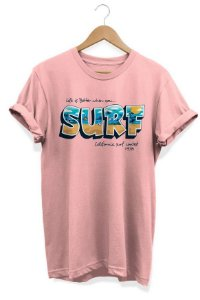 Camiseta Unissex Surf