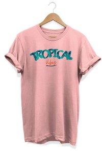 Camiseta Unissex Tropical