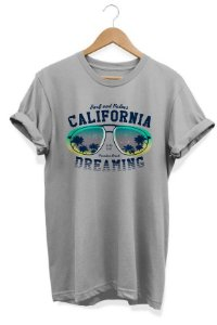 Camiseta Unissex  California Dreaming