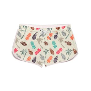 Short Feminino Praia Pineapple Colors