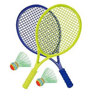 Jogo de Raquetes com Peteca
