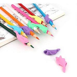 Apoio de Silicone para Lápis e Canetas - 5 Peças