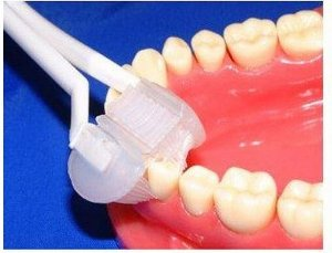 Escova de Dente com Cerdas Triplas de Silicone