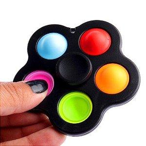 Giro Stress Pop It com 5 Lados Colors