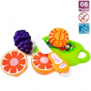 Kit corte de frutas com velcro
