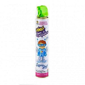 Espuma em Spray com Cheirinho de Chiclete