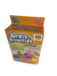 Areia Divertida Com Molde Animais