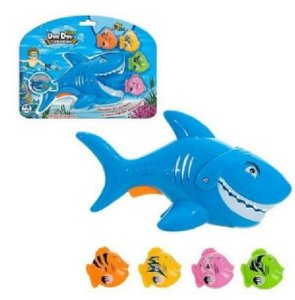 Doo Doo Shark Pega Peixe