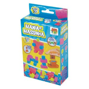 Mania de Massinha Poket Blocks
