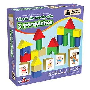 Blocos de Construção Três Porquinhos