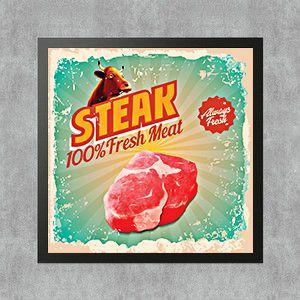 Steak 100% fresh meal