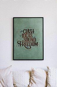 Quadro Decorativo Citações Motivacionais Lady Bird Johnson