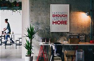 Quadro Decorativo Frases Motivacionais Para Escritórios