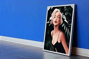 Quadro Decorativo Marilyn Monroe Digital Painting