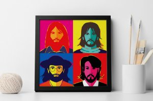 Quadro Decorativo Greatest Hits of The 60's - The Beatles