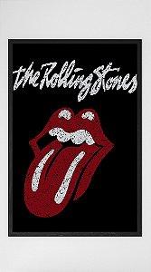 Quadro Decorativo The Rolling Stones Logo