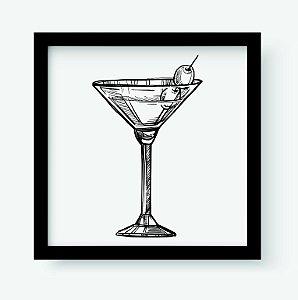 Quadro Decorativo Gourmet Alcoholic Cocktail