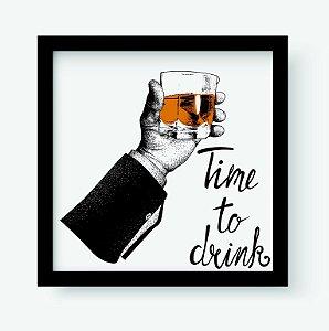 Quadro Decorativo Gourmet Time to Drink
