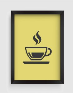 Quadro Decorativo Goumet Cup Of Coffee