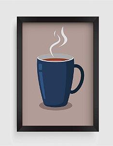 Quadro Decorativo Gourmet Porcelain Mug With Hot Tea