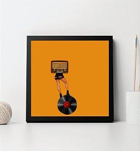 Quadro Decorativo Tema Musical