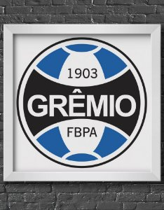 Quadro Decorativo Time: Grêmio - FBPA (Grêmio Foot-Ball Porto Alegrense)
