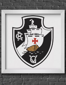 Quadro Decorativo Time: Vasco da Gama - CRVG (Club de Regatas Vasco da Gama)