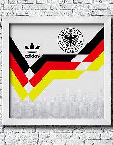 Quadro Decorativo Times de Futebol- Seleção da Alemanha