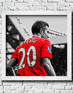 Quadro Decorativo Times de Futebol- Robin Van Persie