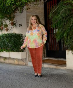 CAMISA VISCOSE ESTAMPADA
