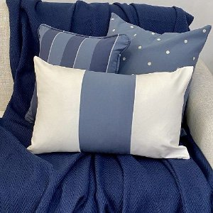 Kit Poá Azul Indigo e Listra Indigo e Azul Marinho