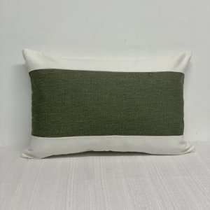 Capa Para Almofada Listra Larga Stone Verde