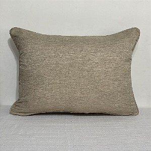 Porta Travesseiro Linho Gomel Natural