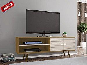 Rack para TV até 60 Polegadas 2 Portas Retrô Ônix Decor Móveis Bechara