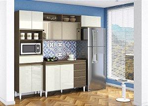 Cozinha Compacta Clara 4 Peças ComTampo Aramóveis