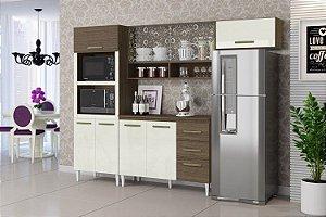 Cozinha Compacta Talita 4 Peças ComTampo Aramóveis