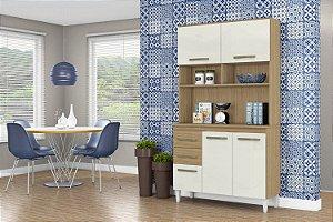 Armário-de-cozinha -Kit Aline Aramóveis