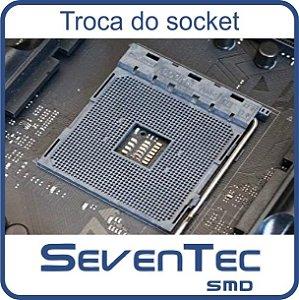Troca do Socket Asus TUF B450-PLUS GAMING