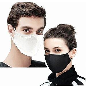 Máscara De Tecido 100% Algodão Lavável