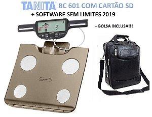 Tanita Bc-601 com Software Ilimitado e mochila - Nova Versão Ouro