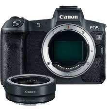 Camera Canon EOS R  + Adaptador Ef / Ef-s