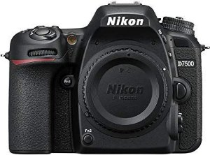 Câmera Nikon D7500