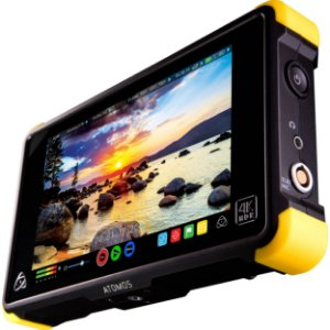 Monitor Gravador Atomos Shogun Flame 7 Polegadas 4k Hdmi/sdi