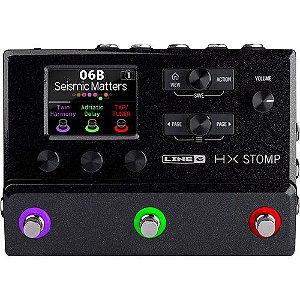 Line 6 Hx Stomp Pedaleira Multi-efeitos Para Guitarra Da Line 6